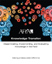 AHRQ Knowledge Transfer